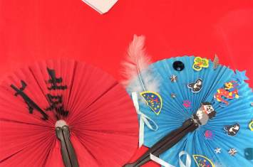 Chinese fan decorating 2