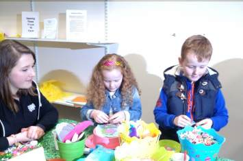 Easter Craft Workshop Castle Dene 5