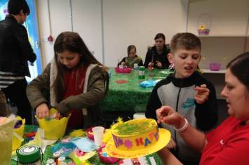 Easter Craft Workshop Castle Dene 6