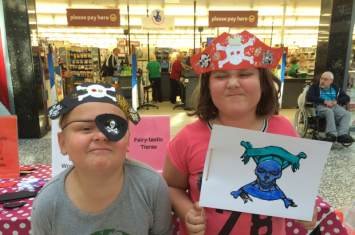Princess and Pirate Craft Workshop 5